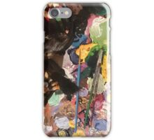 An artist's table iPhone Case/Skin