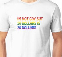 Funny Gay Humour Comedy Joke  Unisex T-Shirt