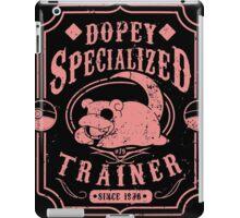 Dopey Specialized Trainer iPad Case/Skin