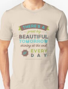 Beautiful Tomorrow (For light backgrounds) Unisex T-Shirt