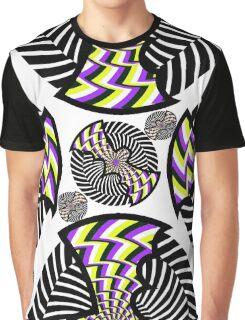 Hypno-Bat Graphic T-Shirt