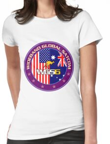WGS-6 Program logo Womens Fitted T-Shirt