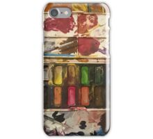 Waiting Watercolours iPhone Case/Skin