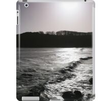 Barafundle From The Northern Rocks - With Gull. iPad Case/Skin