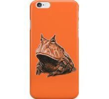 Orange Frog iPhone Case/Skin