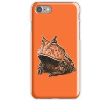 Orange Frog iPhone Case/Skin
