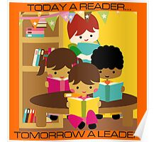 Teacher School Educational Reading Poster
