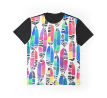 Feather Stream Graphic T-Shirt