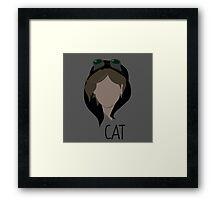 Gotham, Cat, Selena Kyle   Framed Print