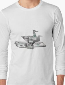 Playing with Money Long Sleeve T-Shirt