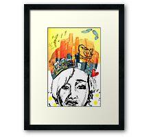 Nam Taehyun King of the City Framed Print