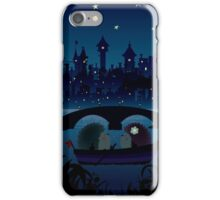 Hedgehogs in the night iPhone Case/Skin
