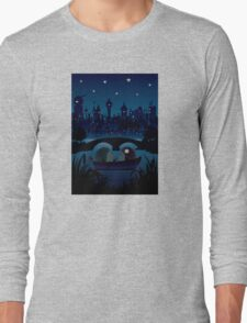 Hedgehogs in the night Long Sleeve T-Shirt