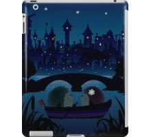 Hedgehogs in the night iPad Case/Skin