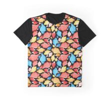 Seamless graphic pattern seashells Graphic T-Shirt