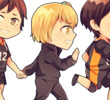 Haikyuu 1st years Sticker