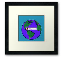 God First YouTube Comment Framed Print