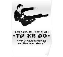 Tu Xe Do - The Marital Art Poster