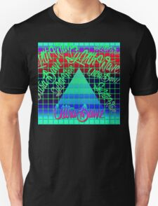 "Synthwave Graffiti, ""UltraBawz"" Design (NEON Version) Unisex T-Shirt"