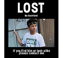 Lost Boyfriend: Jacob Sartorius  Photographic Print