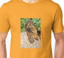 Butterfly on a Stone Unisex T-Shirt