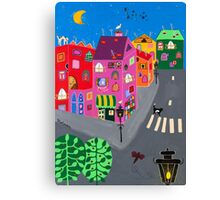 Small Paris Canvas Print