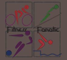 Fitness Fanatic One Piece - Short Sleeve