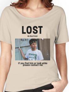 Lost Boyfriend: Jacob Sartorius (White Version) Women's Relaxed Fit T-Shirt