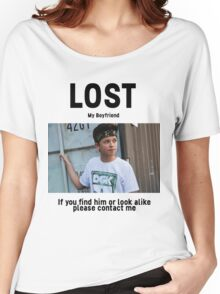 Lost Boyfriend: Jacob Sartorius (White Version) Women's Relaxed Fit T-Shirt