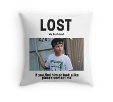 Lost Boyfriend: Jacob Sartorius (White Version) Throw Pillow