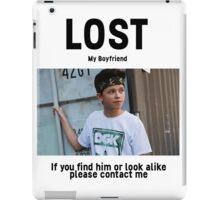 Lost Boyfriend: Jacob Sartorius (White Version) iPad Case/Skin
