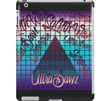 "Synthwave Graffiti, ""UltraBawz"" Design (non-NEON Version) iPad Case/Skin"