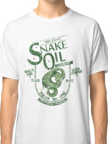 Trust No One... Snake Oil! Classic T-Shirt