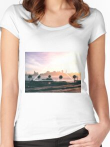 San Francisco Bay Women's Fitted Scoop T-Shirt