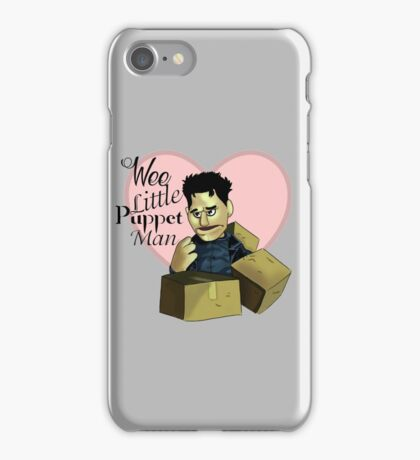 Wee little puppet man iPhone Case/Skin