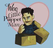 Wee little puppet man Kids Tee