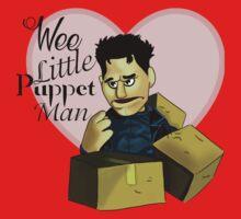 Wee little puppet man Baby Tee