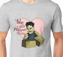 Wee little puppet man Unisex T-Shirt