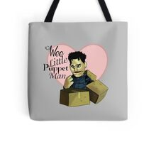 Wee little puppet man Tote Bag