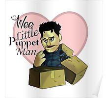 Wee little puppet man Poster