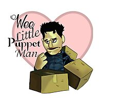 Wee little puppet man Photographic Print