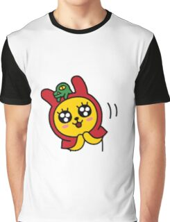 KakaoTalk Muzi and Con Red Riding Hood (Happy) Graphic T-Shirt