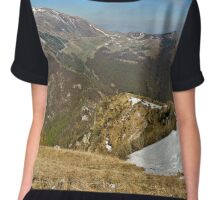 Top   Mountains Italy Veneto Chiffon Top
