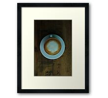 Cappuccino in a Cup Framed Print
