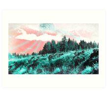 Scifi NMS Landscape Art Print
