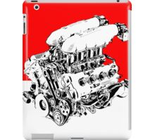 Ferrari F430 Engine Pop Art Design iPad Case/Skin