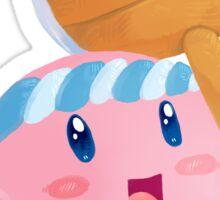 Kirby Hammer  Sticker
