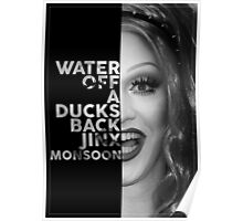 Jinx Monsoon Text Portrait Poster