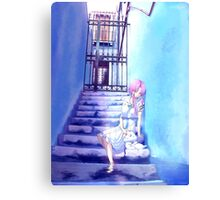 With That Transparent Young Girlx Canvas Print