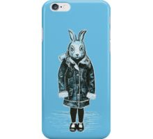 Winter White Rabbit iPhone Case/Skin